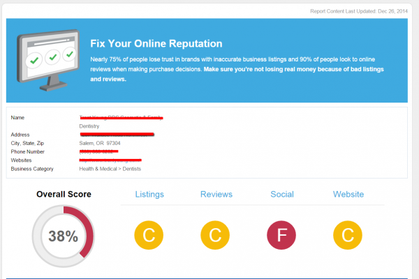 Sales Tool & Snapshot Reports